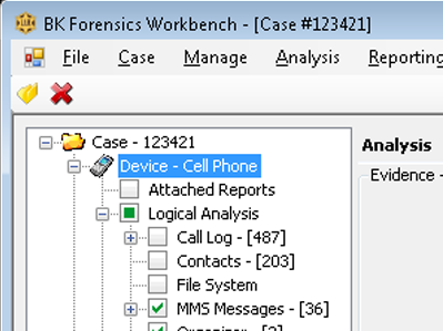 Cell Phone Analytics Software