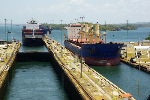 Panama Canal Transit Slot Auction